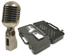 YOGA Vintage Style 'Elvis' Retro Microphone including Case